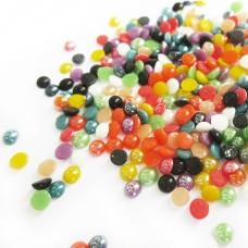 Жемчужинки цветные 100шт