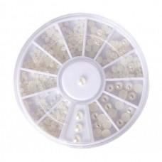 Жемчужинки белые в карусельке