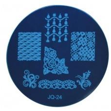 Круглый диск для стемпинга JQ-24