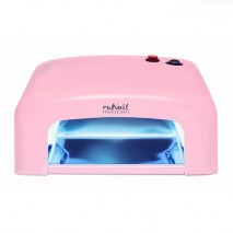 UV лампа ruNail GL-515 36 W  розовая