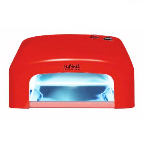 UV лампа ruNail GL-515 36 W красная