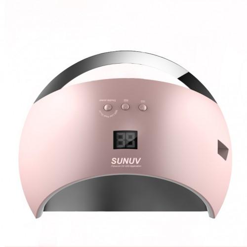 Led лампа SUN 6, 48 W розовая