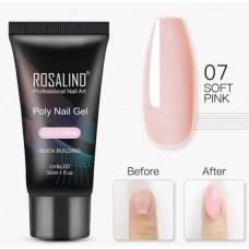 Polygel (полигель) Rosalind, Soft Pink