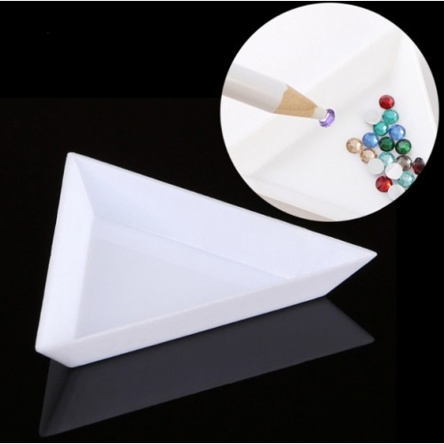 Треугольник для украшений пластиковый