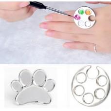 Кольцо-палитра для красок