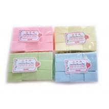 Салфетки безворсовые для снятия 1000шт розового цвета, 4*5 см