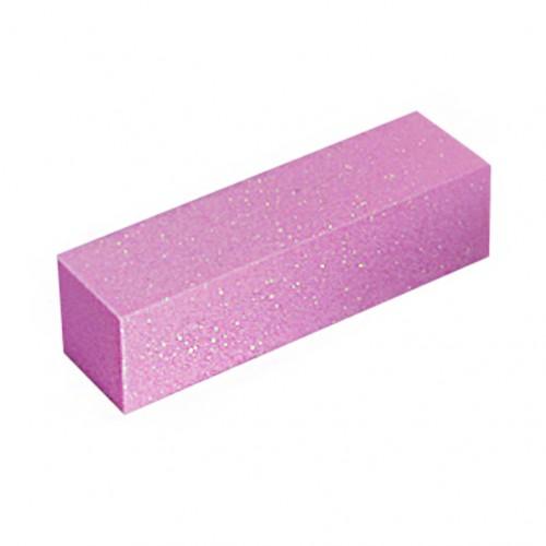 Баф для натуральных ногтей 180, розовый