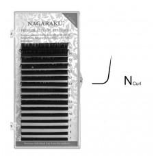 Ресницы Nagaraku Миксы на ленте изгиб N, толщина 0.07